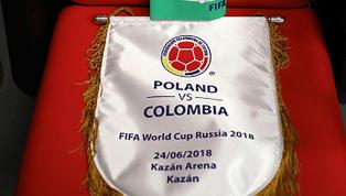 Com James confirmado, Colômbia e Polônia estão escaladas para se enfrentarem