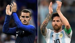 Sob o comando de Griezmann e Messi, França e Argentina estão escaladas para duelo decisivo