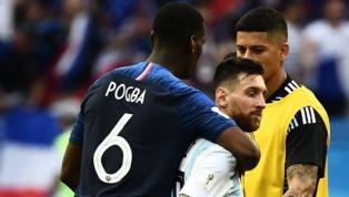 Após eliminar Messi, Pogba 'se declara' ao argentino: 'Me faz amar o futebol'