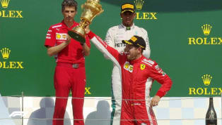Sebastian Vettel volta a vencer em Silverstone