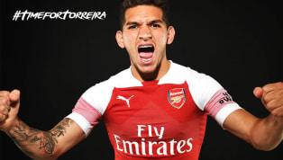 Oficial: Arsenal apresenta o uruguaio Lucas Torreira, ex-Sampdoria