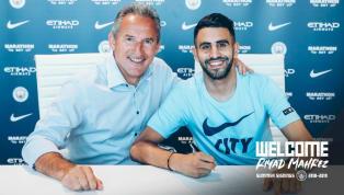 OFICIAL: Manchester City anuncia Riyad Mahrez como novo reforço