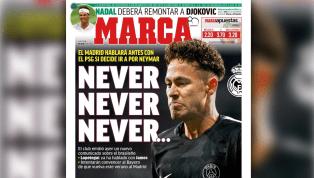 'Nunca'? Jornal 'Marca' ironiza nota oficial do Real Madrid sobre Neymar