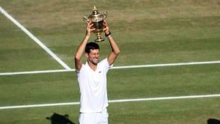 Djokovic se emociona com o tetra em Wimbledon