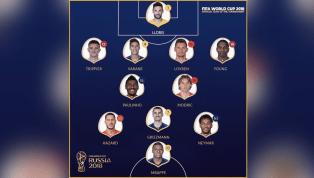 Com Neymar e Paulinho, suposta seleção da Copa do Mundo causa polêmica
