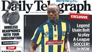 Segundo jornal, Usain Bolt vai assinar contrato com clube australiano
