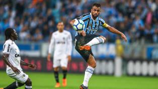 Maicon leva cartão amarelo contra o Atlético-MG e desfalca o Grêmio contra o Vasco