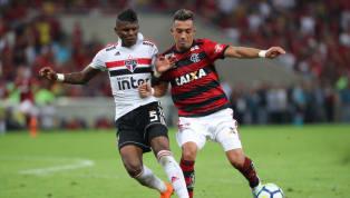 Chances de gol e movimentação: Uribe em 36 minutos na estreia pelo Flamengo