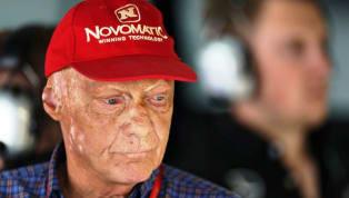 Tricampeão da Fórmula 1, Niki Lauda está hospitalizado