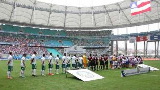 Bahia não vence o Palmeiras em Salvador há 30 anos