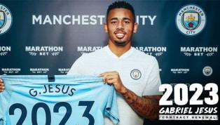 Manchester City estende contrato de Gabriel Jesus até 2023