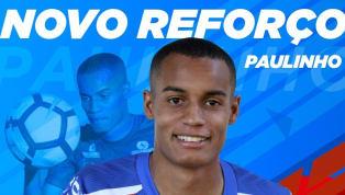 Bahia oficializa contratação do lateral-esquerdo Paulinho, ex-São Bento