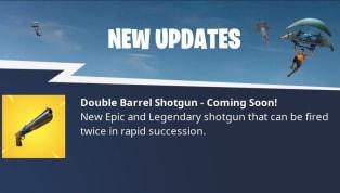Atualização do Fortnite traz nova arma lendária