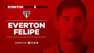 São Paulo anuncia contratação de Everton Felipe