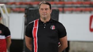 Roberto Fernandes fala sobre boas atuações do Santa Cruz fora de casa: 'Ponto positivo'