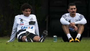 Após terceiro cartão amarelo, Victor Ferraz e Alison desfalcarão Santos pelo Brasileirão