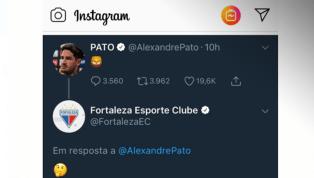 Pato publica mensagem enigmática e torcedores do Fortaleza brincam com possibilidade de contratação