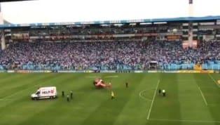 Em partida contra o Avaí, torcedor do Figueirense cai da arquibancada após confusão