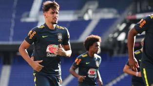 DE VOLTA E COM CARAS NOVAS: o primeiro treino da seleção brasileira nos EUA