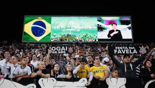 Corinthians abrirá treino para torcida na véspera do jogo contra o Flamengo