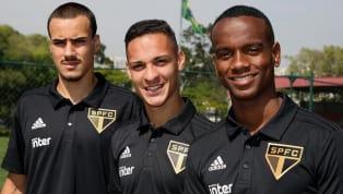 São Paulo anuncia Antony, Helinho e Igor Gomes como reforços para o time profissional
