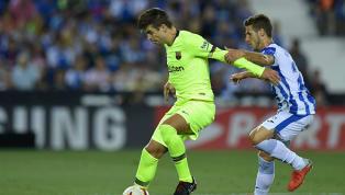 Piqué comete erro bizarro em gol do Leganés e internet vai à loucura