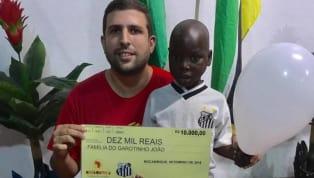 Santos doa 38 mil reais para a ONG missão África