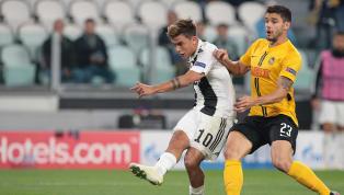 Dybala perde grande chance de fazer o terceiro gol da Juventus