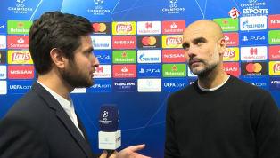EXCLUSIVO: Guardiola fala sobre fase do Manchester City após primeira vitória na Champions
