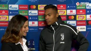 EXCLUSIVO: Alex Sandro comenta ausência de Cristiano Ronaldo em vitória da Juventus