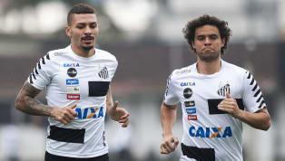 Santos conta com cinco jogadores pendurados para último jogo antes do clássico contra o Corinthians