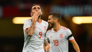 Paco Alcácer marca golaço para a Espanha em amistoso contra País de Gales