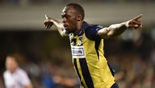 HISTÓRICO! Usain Bolt marca primeiro gol como jogador de futebol