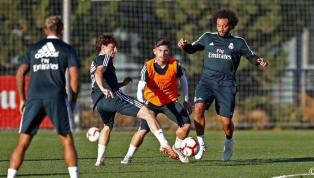 Marcelo marca belo gol com passe de Isco em treino do Real Madrid