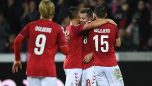 Lerager abre o placar com golaço para a Dinamarca após tabelinha sensacional