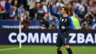 Griezmann faz belo gol de cabeça e empata para a França