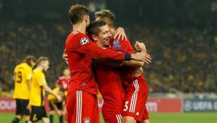 Com assistência de Rafinha, Lewandowski faz o segundo gol do Bayern