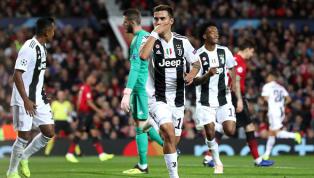 Dybala recebe livre no meio da área e abre o placar para a Juventus