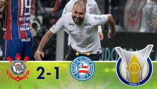 Com dois gols de Danilo, Corinthians volta a vencer no Brasileirão e se distancia do Z-4