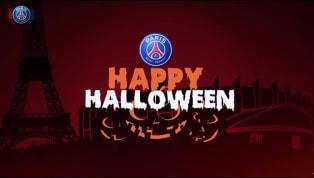 PSG faz brincadeira assustadora de Halloween com Thiago Silva e outras estrelas