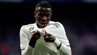 Vinicius Jr. faz jogada do gol do Real Madrid e internet vai à loucura
