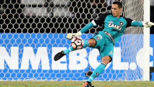 Torcida do Botafogo faz a festa ao ouvir nome de Gatito no time titular; assista