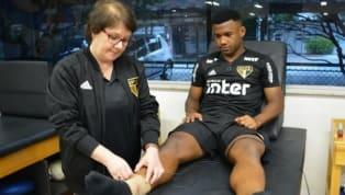 Luan é diagnosticado com entorse no tornozelo direito e desfalca o São Paulo no Majestoso