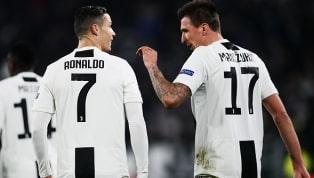 Mandzukic abre o placar para a Juventus após grande jogada de Cristiano Ronaldo