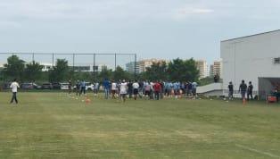 Grupo invade treino da equipe do Fluminense no CT Pedro Antônio