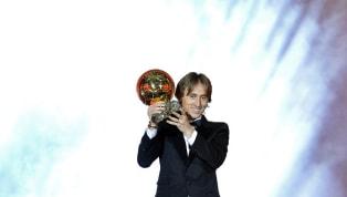 Modric sobre ganhar a Bola de Ouro: 'Essa noite é uma vitória para o futebol'