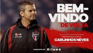 São Paulo anuncia volta do preparador físico Carlinhos Neves