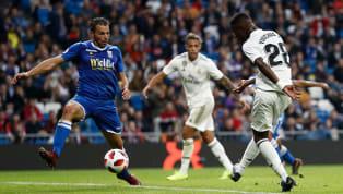 Vinicius Jr. faz gol após bela jogada de Isco em goleada do Real Madrid