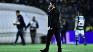 Schelotto é punido pela Conmebol e não poderá ficar no banco de reservas contra o Palmeiras