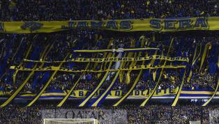 Boca escreve frases intimidadoras no caminho do Cruzeiro na Bombonera: 'Inferno'
